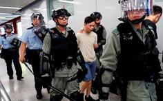 Cảnh sát Hong Kong bắt gần 160 người biểu tình trong cuối tuần