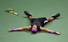 Nadal và giọt nước mắt hạnh phúc
