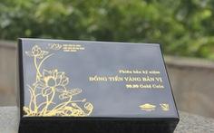 50 phiên bản 'đồng tiền vàng bộ trưởng' quý hiếm được trao tới người dân