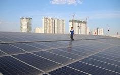 Siêu thị của Saigon Co.op dùng điện mặt trời