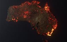 Ảnh cháy rừng như hỏa ngục ở Úc khiến dân mạng xôn xao: ảnh vệ tinh hay ảnh giả?