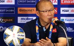 HLV Park Hang Seo nhận trách nhiệm về thất bại của U23 Việt Nam