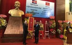 Campuchia truy tặng thiếu tướng Hoàng Thế Thiện Huân chương hoàng gia Sahametrei