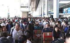 Sân bay Tân Sơn Nhất khuyến cáo hành khách đến sớm 3 tiếng dịp tết