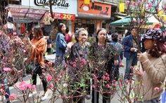 Từ 9-1, Hà Nội cấm đường một loạt tuyến phố cổ để tổ chức Chợ hoa Xuân 2020