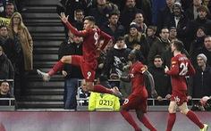 Dứt điểm kém, Tottenham 'phơi áo' trước Liverpool trên sân nhà