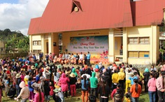 Trao 2.000 suất quà tết cho đồng bào nghèo 4 tỉnh Nam Trung Bộ