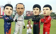 Sôi động chương trình chào đón đua xe công thức 1 tại TP.HCM