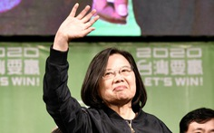 Trung Quốc nổi cáu vì nhiều nước chúc mừng bà Thái Anh Văn