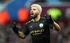 Aguero lập hat-trick, M.C hủy diệt Aston Villa 6-1