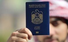 Hộ chiếu UAE tiếp tục giữ vị trí 'quyền lực' nhất thế giới