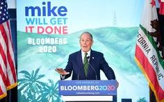 Tỉ phú Bloomberg: 'Tôi sẽ dành toàn bộ tiền bạc để loại ông Trump'