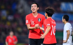 Thua U23 Hàn Quốc, đương kim vô địch Uzbekistan vẫn có mặt ở tứ kết