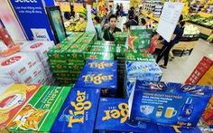 Giá bia 'tuột' theo sức mua thấp