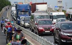 Chọn lộ trình né kẹt xe ở cao tốc TP.HCM - Long Thành - Dầu Giây