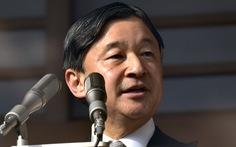 Nhật hoàng Naruhito phát thông điệp 2020: 'Mong một năm thái bình, không thiên tai'