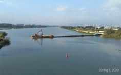 Đà Nẵng xây đập tạm trên sông Cẩm Lệ đề phòng nước nhiễm mặn