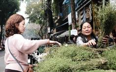 Người Hà Nội chen chân trong phiên chợ cuối cùng của năm