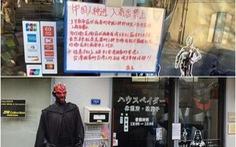 Cửa hàng Nhật gây tranh cãi vì để bảng cấm du khách Trung Quốc