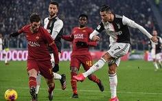 Ronaldo đột phá ghi bàn, Juventus hạ Roma để vào bán kết Cúp quốc gia Ý