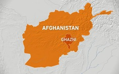 Máy bay rơi ở Afghanistan