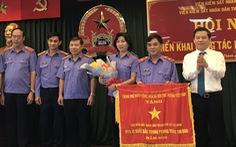 Viện Kiểm sát nhân dân TP.HCM nhận cờ thi đua của Chính phủ