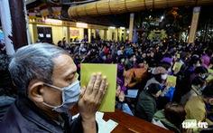 Bỏ dâng sao giải hạn và lo virus corona, lễ cầu an ở chùa Phúc Khánh trật tự không ngờ