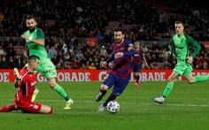 Messi lập cú đúp, Barcelona 'vùi dập' Leganes ở Cúp Nhà Vua