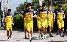U23 Việt Nam 'hồi hộp' chờ tin chấn thương của Đình Trọng