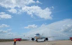 Sân bay Phù Cát đón chuyến bay quốc tế đầu tiên