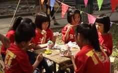 Hoạt động thiện nguyện 'Tết trẻ em' tại Lễ hội Tết Việt 2020