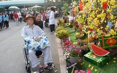 Đường hoa xuân cho bệnh nhân ở Bệnh viện Chợ Rẫy