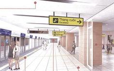 Metro số 1 Bến Thành - Suối Tiên sắp hoàn thiện ga Nhà hát TP