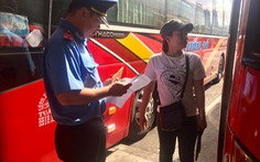 TP.HCM tạm đình chỉ hiệu lực phù hiệu, biển hiệu xe khách, xe buýt, taxi, xe du lịch