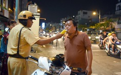 TP.HCM kiên quyết xử phạt tài xế có nồng độ cồn khi lái xe