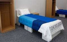 Nhật làm giường từ bìa cứng cho vận động viên Thế vận hội