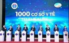 Bộ Y tế khai trương 1.000 cơ sở khám chữa bệnh từ xa với giải pháp Viettel Telehealth