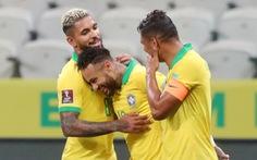 Xem Neymar 2 lần kiến tạo giúp Brazil thắng '5 sao' ở vòng loại World Cup 2022