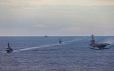 Nhật tập trận chống tàu ngầm ở Biển Đông