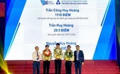 3 thủ khoa Trường ĐH Bách khoa TP.HCM cùng tên Huy Hoàng