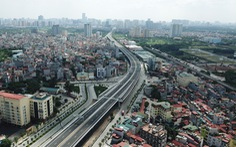 Khánh thành đường trên cao đoạn Mai Dịch - Nam Thăng Long