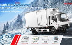 ISUZU Việt Nam ra mắt QKR phiên bản thùng đông lạnh