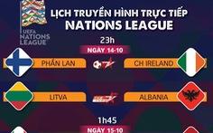 Lịch trực tiếp Nations League: Ý gặp Hà Lan, Croatia đụng Pháp