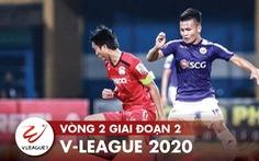 Lịch trực tiếp V-League 2020 ngày 15-10: HAGL - CLB Hà Nội