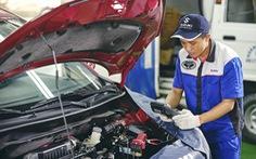Chia sẻ thông tin về xe Ertiga và dự trữ phụ tùng của Suzuki