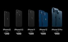 iPhone 12 giá dự kiến từ 21,49 triệu, bán chính thức tại Việt Nam từ 4-12