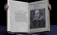 Bản sao tuyển tập kịch của Shakespeare  được đấu giá lên đến gần 10 triệu đô