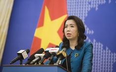 Việt Nam hoan nghênh mong muốn hợp tác của 'bộ tứ kim cương' QUAD với ASEAN