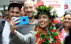 Thủ tướng New Zealand Jacinda Ardern trên đà thắng lớn