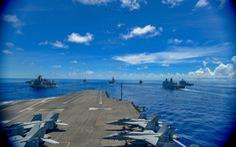 Tàu sân bay USS Ronald Reagan quay lại Biển Đông lần thứ 3 trong năm
